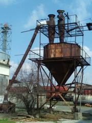 Бункер для сбора опилок.Комплект деревообрабатывающего оборудования.