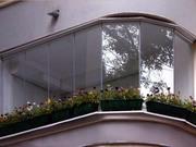 Сотовый поликарбонат для отделки балконов и веранд.
