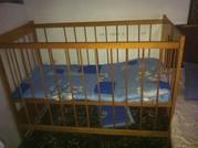 кроватку детскую манежку
